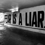 FEAR IS A LIAR. I faced my fears and conquered my demons today. #Neverstop